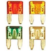 Quick Cable 509110-100 30 Amp Mini Blade Fuses, Green, 100 Pcs