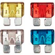Quick Cable 509128-100 15 Amp Mini Blade Fuses, Blue, 100 Pcs