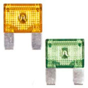 Quick Cable 509154-100 50 Amp Mini Blade Fuses, Red, 100 Pcs