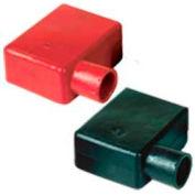 Quick Cable 5728-050B Left Elbow Terminal Protectors, Black, 50 Pcs