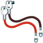 Quick Cable 8325-025 Side Terminal Cables With Lead Wire, Red, 25 Pcs