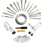 Suspend-It® Drop Ceiling Grid Installation Kit 8865, 400 Sq. Ft.