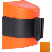 WallPro 400 Orange Wall Mount Retracting Barrier, 15' Orange Belt