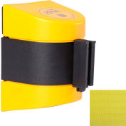 WallPro 400 Yellow Wall Mount Retracting Barrier, 15' Yellow Belt