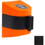 WallPro 450 Orange Wall Mount Retracting Barrier, 30' Black Belt