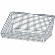 "Quantum Partition Wall System 1017HBC 11""Dx17-3/8""Wx7-3/8""H Partition Hanging Basket"