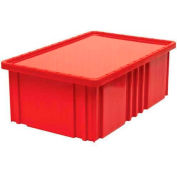 """Global Industrial™ Clear Dust Cover Inlays For 16-1/2""""Lx10-7/8""""W Dividable Grid Containers - Pkg Qty 4"""