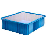 """Quantum Clear Dust Cover Inlays DDC93000CL For 22-1/2""""L x 17-1/2""""W Dividable Grid Containers - Pkg Qty 3"""