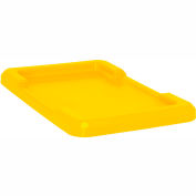 Yellow Lid For Cross Stack And Nest Tote TUB2516-8 - Pkg Qty 6