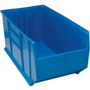 "Quantum Plastic Rack Bin QRB206 19-7/8""W x 41-7/8""D x 17-1/2""H Blue"