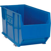 Quantum Mobile Hulk Plastic Stackable Storage Bin QUS998MOB 23-7/8 x 35-7/8 x 17-1/2 Blue