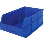 Quantum Storage QSB102PK 30-Pack 4 Hanging Plastic Shelf Bin Storage Containers 11-5//8 x 6-5//8 x 4 Pink