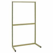 "Quantum Partition Wall System WS-DS18ADHC 18""W Double Sided Wall Frame Add-On"