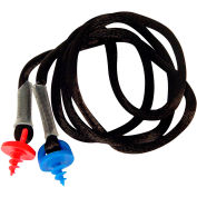 Radians®CEPNC-B Custom Molded Earplug, Black Neckcord w/Screws, Each