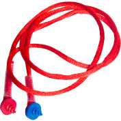 Radians®CEPNC-R Custom Molded Earplugs, Red Neckcord w/Screws, Each