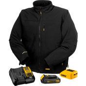 DeWalt® DCHJ060C1-M 20V/12V MAX* Black Heated Jacket Kit - M