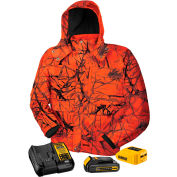 DeWalt® DCHJ063C1-XL 20V/12V MAX* True Timber™ Blaze Camo Heated Jacket Kit - XL