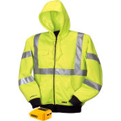 DeWalt® DCHJ071B-M 20V/12VMAX* Heated High-Visibility Hoodie Only - M