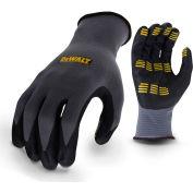 DeWALT® DPG76XL High Dexterity Textured Nitrile Grip Gloves, Black, XL, 1 Pair - Pkg Qty 12