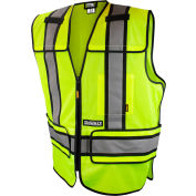 DeWalt® DSV421-XL/3X ANSI Class 2 Adjustable Breakaway Vest XL/3X