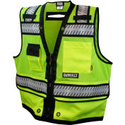DeWalt® DSV521-M ANSI Class 2 Heavy Duty Surveyor Vest M