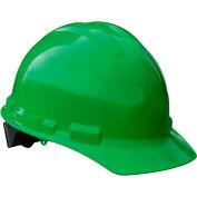 Radians® GHP4 Granite™ Cap Style Hard Hat, 4-Point Pinlock Suspension, Green