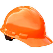Radians® GHP4 Granite™ Cap Style Hard Hat, 4-Point Pinlock Suspension, Hi-Vis Orange