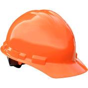 Radians® GHP4 Granite™ Cap Style Hard Hat, 4-Point Pinlock Suspension, Orange