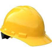 Radians® GHP4 Granite™ Cap Style Hard Hat, 4-Point Pinlock Suspension, Yellow