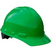 Radians GHR4 Granite™ Cap Style Hard Hat, 4 Point Ratchet, Green