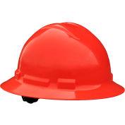 Radians® QHP4 Quartz™ Full Brim Hard Hat, 4-Point Pinlock Suspension, Red