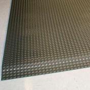 "Rhino Mats Reflex 1"" Thick Raised Domed Interactive Surface Anti-Fatigue Mat, 3' x 5' Matte Black"
