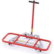 """Raymond Products 2000-46 Desk Lift - 2-1/2"""" Casters - 16"""" x 46"""" Lift Frame"""