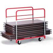 "Round/Rectangular Folding Table Mover 2 Fixed & 2 Swivel 5"" Phenolic Casters"