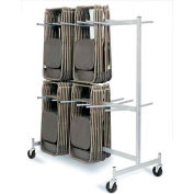 Hanging Folded Chair Storage Truck For Lifetime Chairs