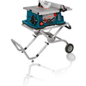 "BOSCH® 4100-09, 10"" Worksite Table Saw with Gravity-Rise™ Wheeled Stand"