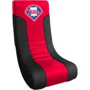"Philadelphia Phillies Video Chair, 16""W x 17""D x 30""H, Red Microfiber"