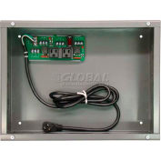 RIB® Enclosed UPS Interface Board PSH2C2RB10, 10A Switch/Breaker, 120VAC, Status Contacts