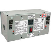 RIB® AC Power Supply PSH75A75AWB10, Enclosed, Dual, 75VA, Multi-Tap-24VAC, 10A Breaker