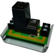 RIB® Track Mount Circuit Breaker Switch PSMN24SB10, 10A, 24VAC, LED Indicator