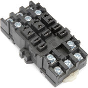Relay and Control RC-121 Relay Socket, 300V @ 10 Amps, Din Rail Mountable