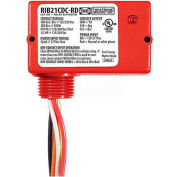 RIB® Dry Contact Input Relay RIB21CDC-RD, Enclosed, Pilot, 120-277VAC, 10A, SPDT, Red HSG
