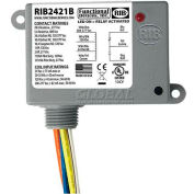 RIB® Enclosed Power Relay RIB2421B, 20A, SPDT, 24VAC/DC/120VAC/208-277VAC