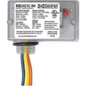 RIB® Enclosed Relay RIB2421C-N4, 10A, NEMA 4/4X, SPDT, 24VAC/DC/120-277VAC