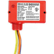 RIB® Enclosed Polarized Relay RIB24C-FA-RD, 10A, SPDT, 24VACVDC, Red Housing