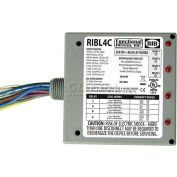 RIB® Enclosed Relays RIBL4C, 10A, 3 SPST-NO, 1 SPDT, 10-30VAC/DC