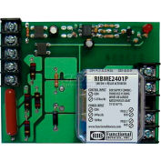 "RIB® Panel Relay RIBME2401P, 4""x3.10"", 20A, DPST, 24VAC/DC/120VAC Power, 5-30VAC/DC Control"