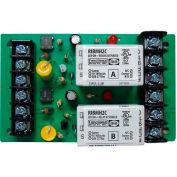 "RIB® Track Mount Relay RIBMH2C, 4"", 15A, 2 SPDT, 10-30VAC/DC/208-277VAC"
