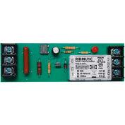 "RIB® Track Mount Relay RIBMU1C, 4"", 15A, SPDT, 10-30VAC/DC/120VAC"