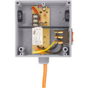RIB® T Style Relay RIBTU1S, Enclosed, Hi/Low Sep. 10A, SPST, 10-30VAC/DC/120VAC, Override
